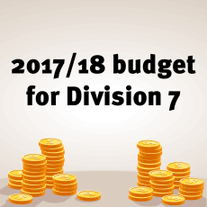 2017 Budget Division 7
